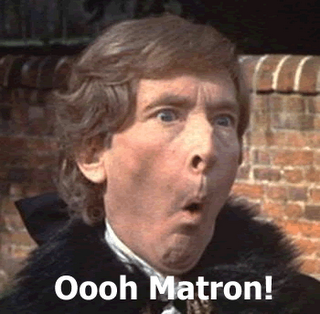 Kenneth Williams from The Carry On Films - Matron! - motherdistracted.co.uk