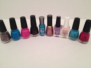 Icing by Claires, Rimmel, China Glaze, Haul