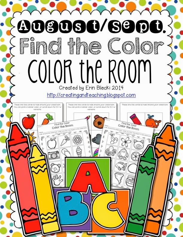 http://www.teacherspayteachers.com/Product/AugustSeptember-Color-the-Room-1369503