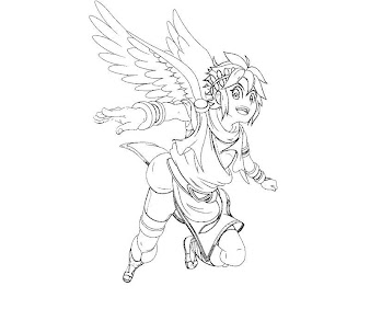 #15 Pit Coloring Page