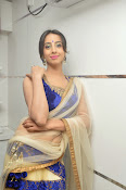 Sanjjana Latest Glam pics in saree-thumbnail-9