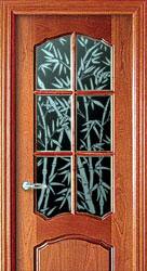 Декор дверей со стеклом