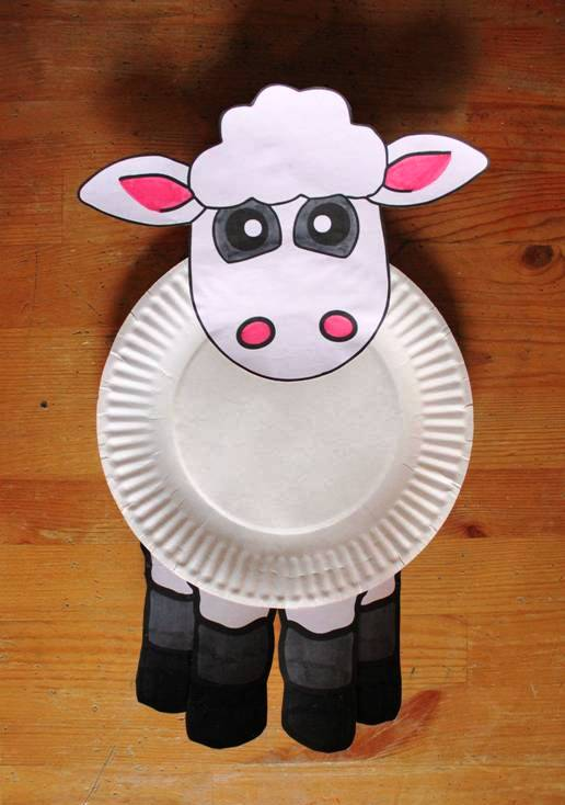 Arts And Crafts Ideas For Kids With Paper Part - 41: Paper Plates Animal Craft Ideas