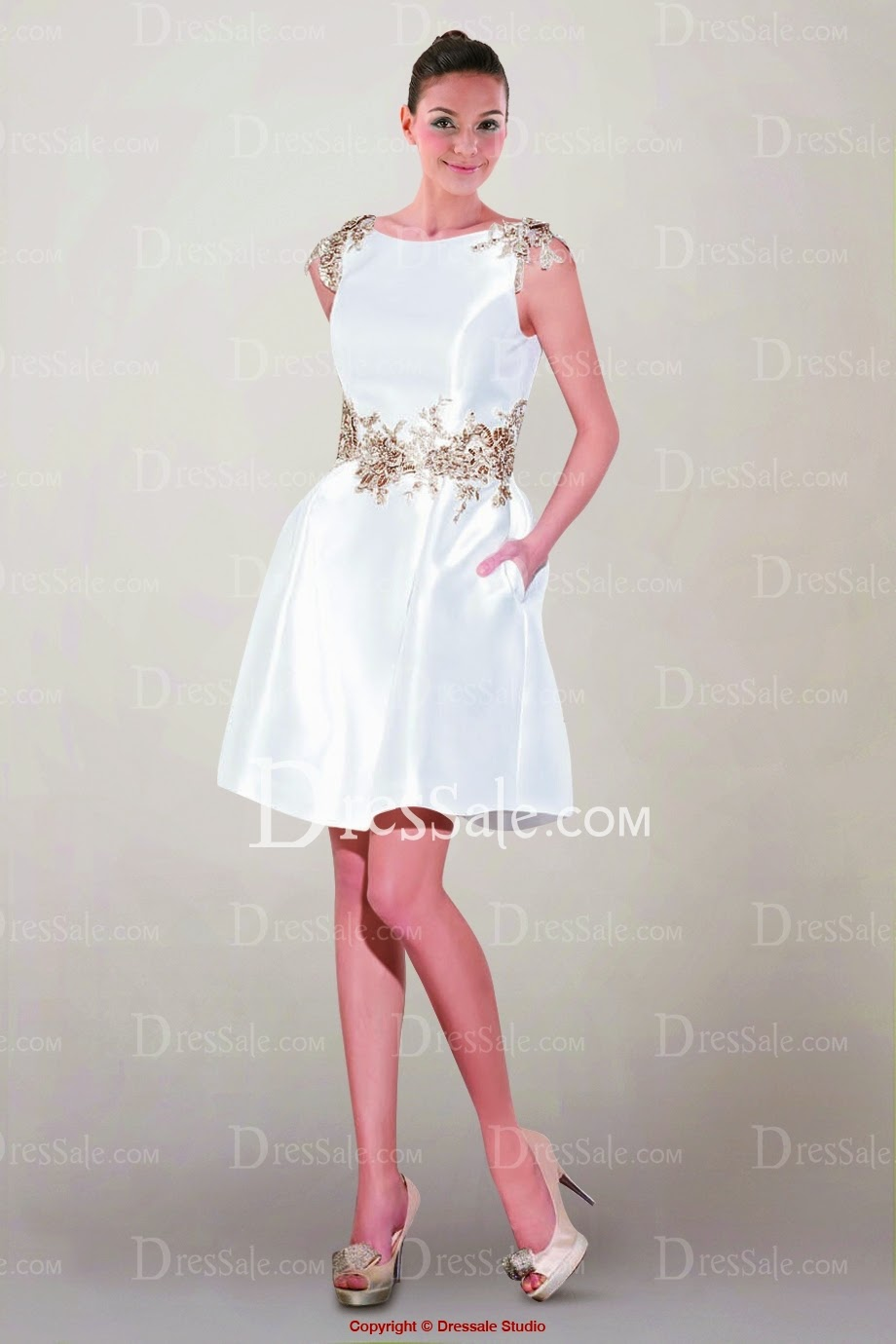 http://www.dressale.com/lovely-mini-satin-wedding-gown-featuring-contrasting-appliques-and-double-bowtie-back-p-89963.html