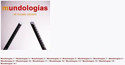 Mundologías: el museo sonoro