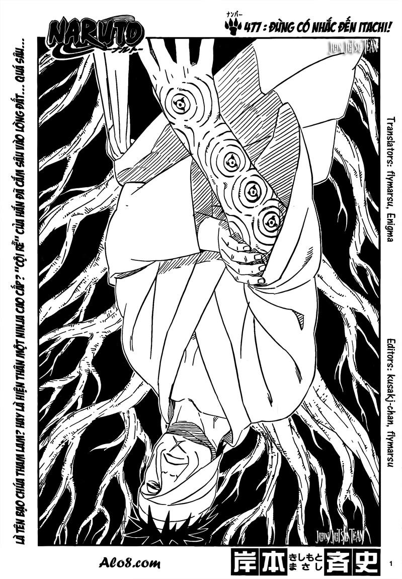 Naruto chap 477 Trang 1 - Mangak.info