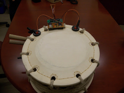 electronic drum trainer