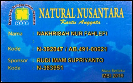 ID Card Distributor PT Natural Nusantara