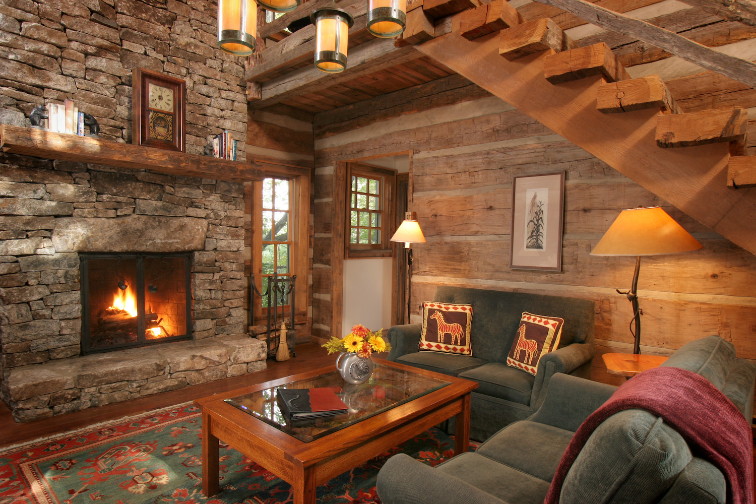 Apple pie and shabby style country cuori the for Chalet arredamento