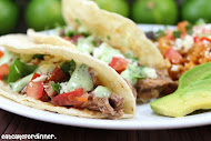 Copycat Cafe Rio Shredded Beef Tacos
