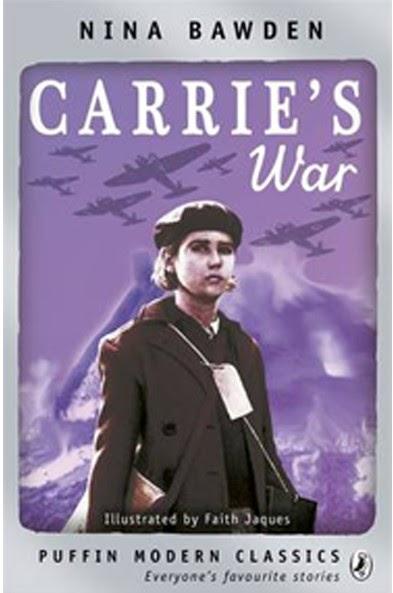 Penguin Book Cover Carrie S War : Children s war books carrie by nina bawden