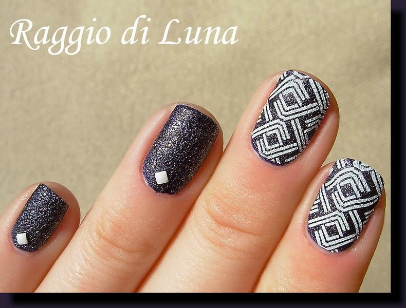 Line Texture On Nails : Old fashioned white lines on nails adornment nail paint