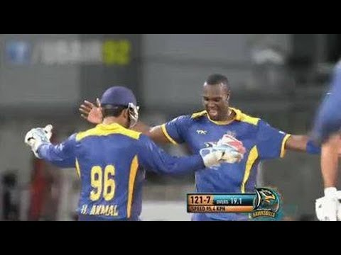 UMAR AKMAL'S DANCE IN CPLT20 2013