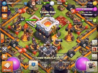 Bentuk Gambar Dan Video Tentang Update Town Hall 11 Clash of Clans