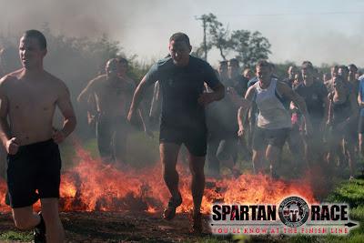 Birmingham Spartan fire jump