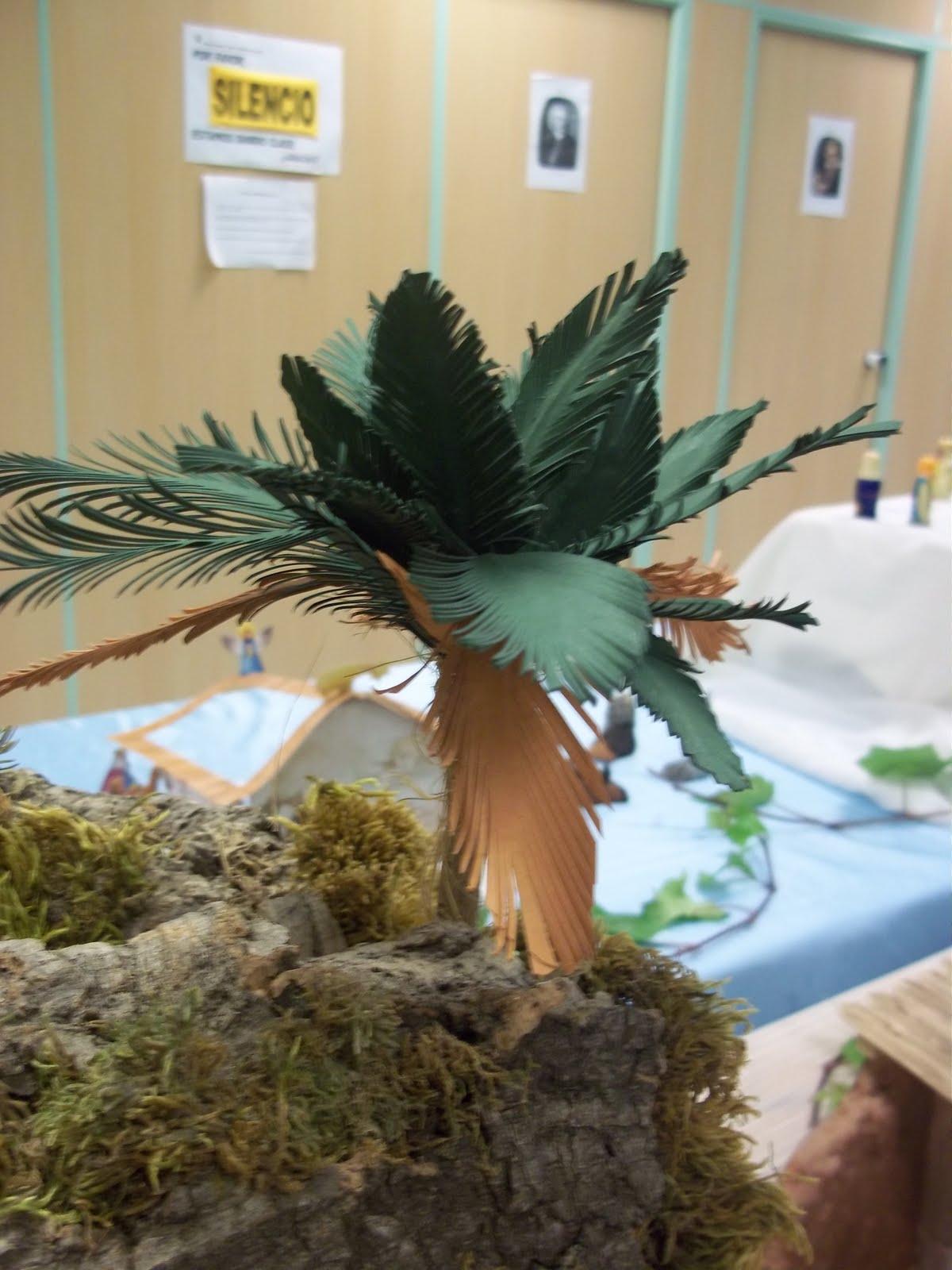 Todav a no ten is palmeras en vuestro belen - Como hacer una palmera artificial ...