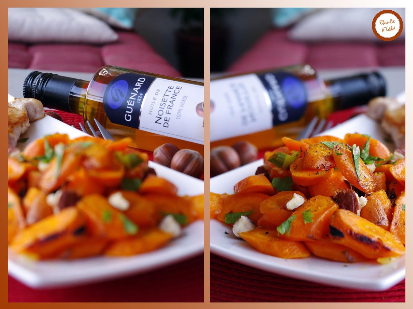 recette carottes sautées à la noisette