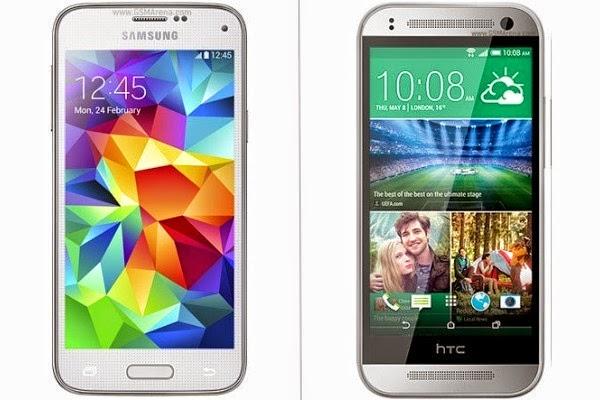 Comparison-between-best-mobile-compact-in-2014-samsung-galaxy-s5-mini-VS-sony-xperia-z1-compact-VS-HTC-one-mini-2-VS-LG-G2-mini