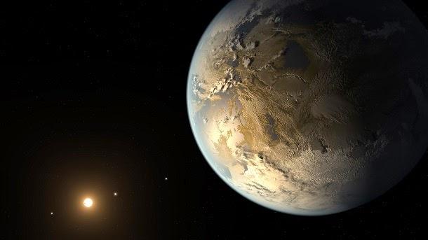 Encontrado planeta do tamanho da Terra que pode suportar vida