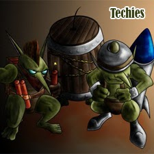 techies item build
