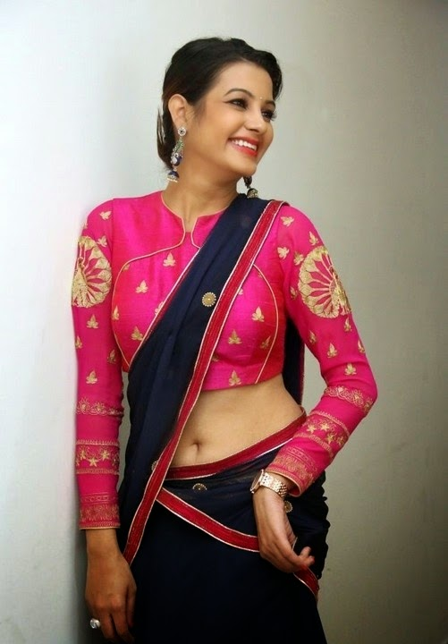 Deeksha Panth In Pink Dress New Photo Gallary