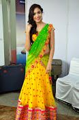 Reetu varma sizzling in half saree-thumbnail-11