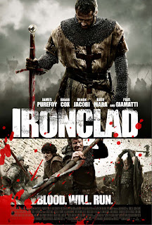Watch Ironclad 2011 BRRip Hollywood Movie Online | Ironclad 2011 Hollywood Movie Poster