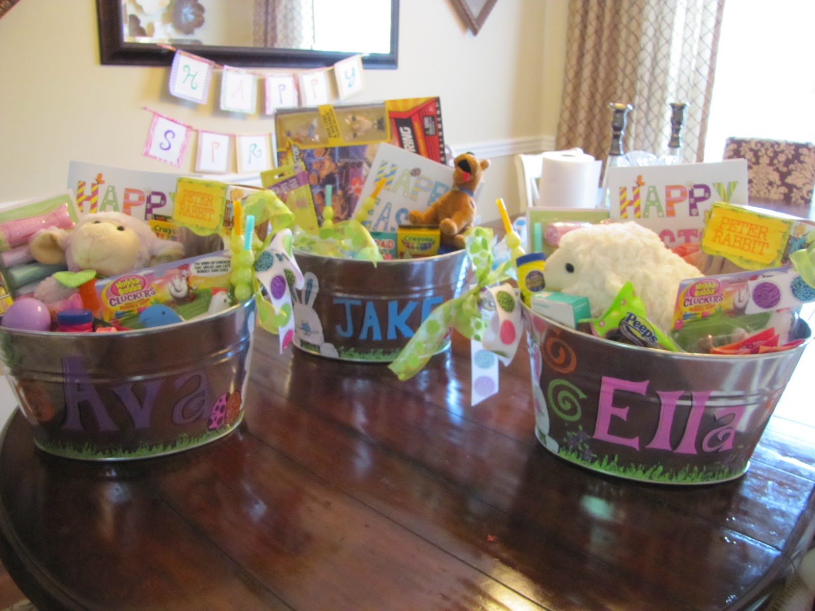 Real life real estate real dana sunday news easter basket diy and i have had several emails so wanted to just give a quick run down on how to make them negle