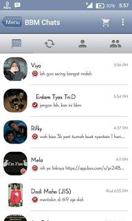Update BBM Mod Iphone 2.9.0.49 apk
