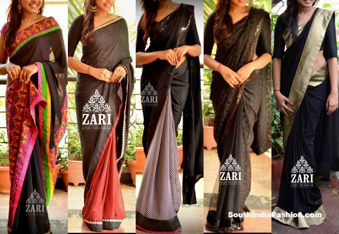 Zari Blouse Back Designs 19