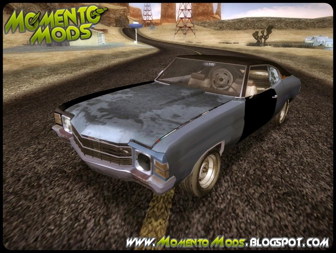 GTA SA - Chevrolet Chevelle Rustelle