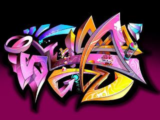 3d Graffiti Wallpapers