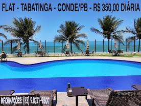 Flat - Tabatinga - Conde/PB  - R$ 350,00
