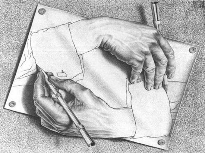 Optical Illusion Sketches