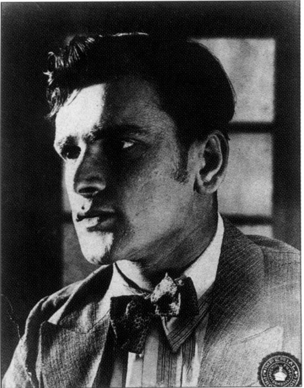 Portrait of Prithviraj Kapoor - 1929 - Old Indian Photos