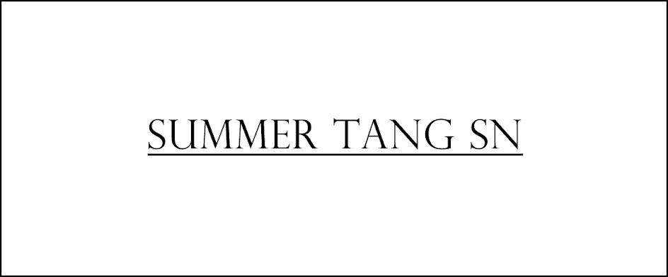 SUMMER TANG SN