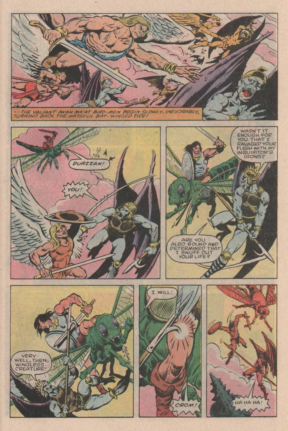 Conan the Barbarian (1970) Issue #154 #166 - English 23