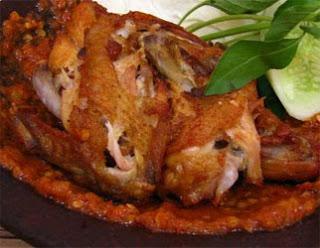 Smashed Fried Chicken Ayam Penyet