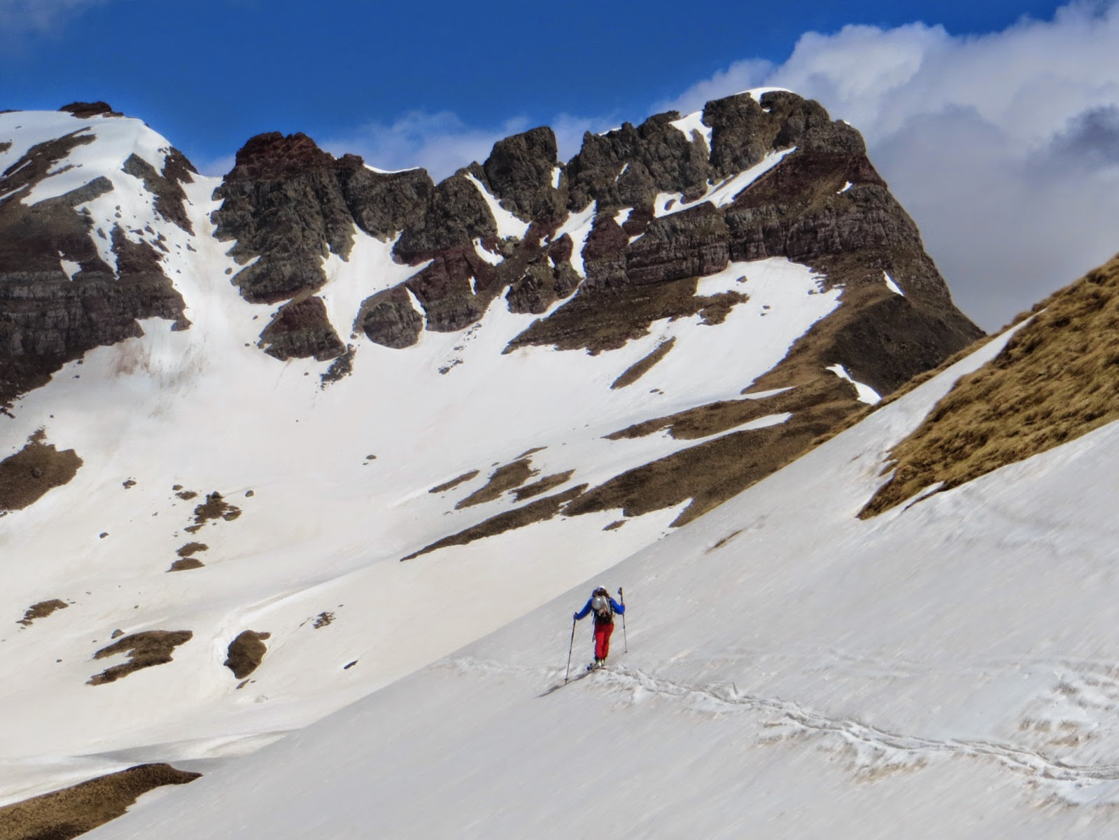 Pirineo de Huesca: Punta Escarra (2750m), Corredor Norte (PD+)