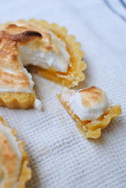 recept, citron, tarte aux, maräng, tartelette, lemoncurd, paj