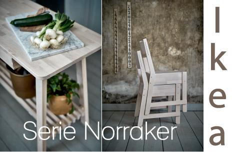 Serie norraker ikea puro stile scandinavo di arredamento e