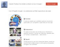 entrare in Google Plus