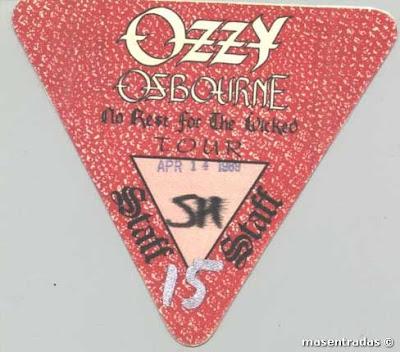 pase backstage ozzy osbourne