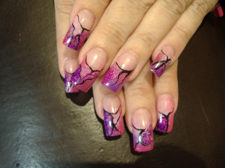 las uñas largas son absolutamente fascinantes son un elemento ideal ...