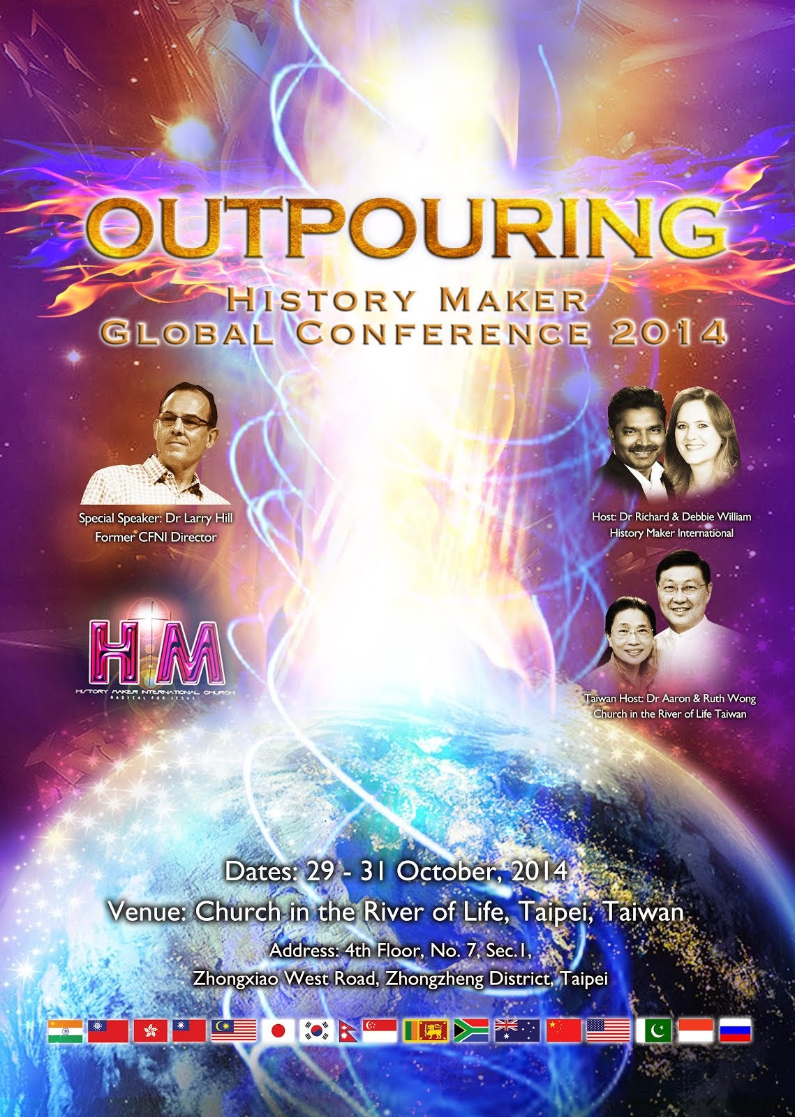 HISTORY MAKER GLOBAL CONFERENCE 2014 - TAIWAN