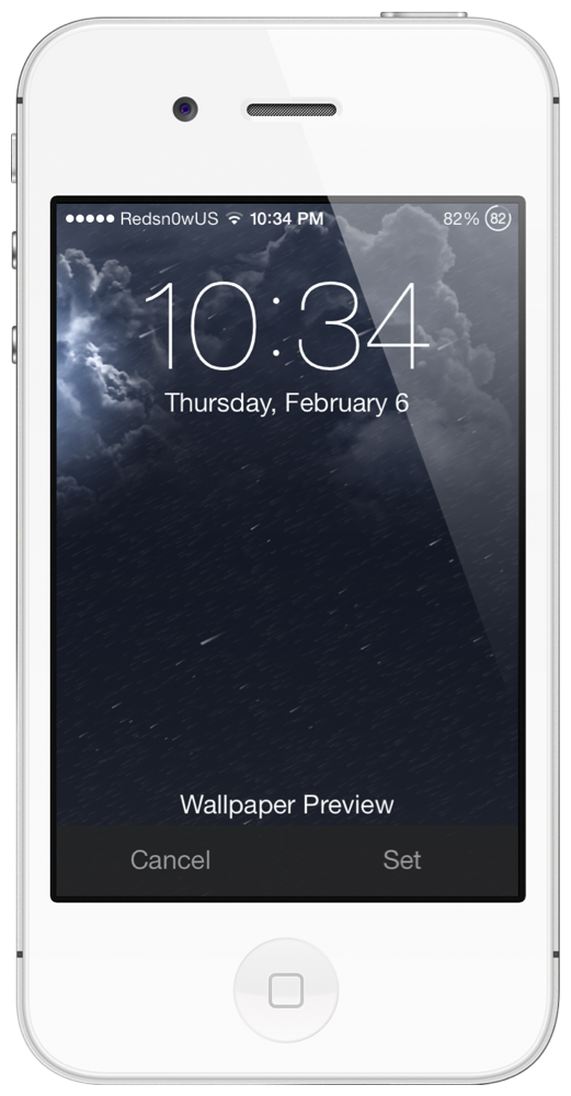 WeatherBoard Add Animated Weather Wallpaper iOS 7 Home