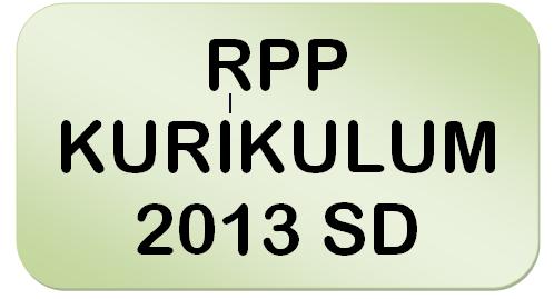 downloaD contoh rpp kurikulum 2013 untuk sdkelas 1 2 4 dan kelas 5