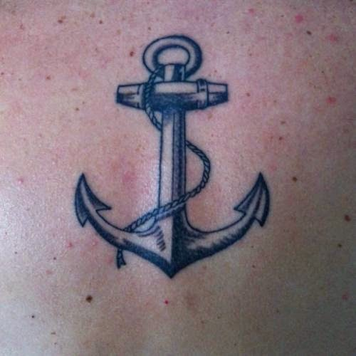 Valkyrie tattoo shop anchor tattoos for Black anchor tattoo la