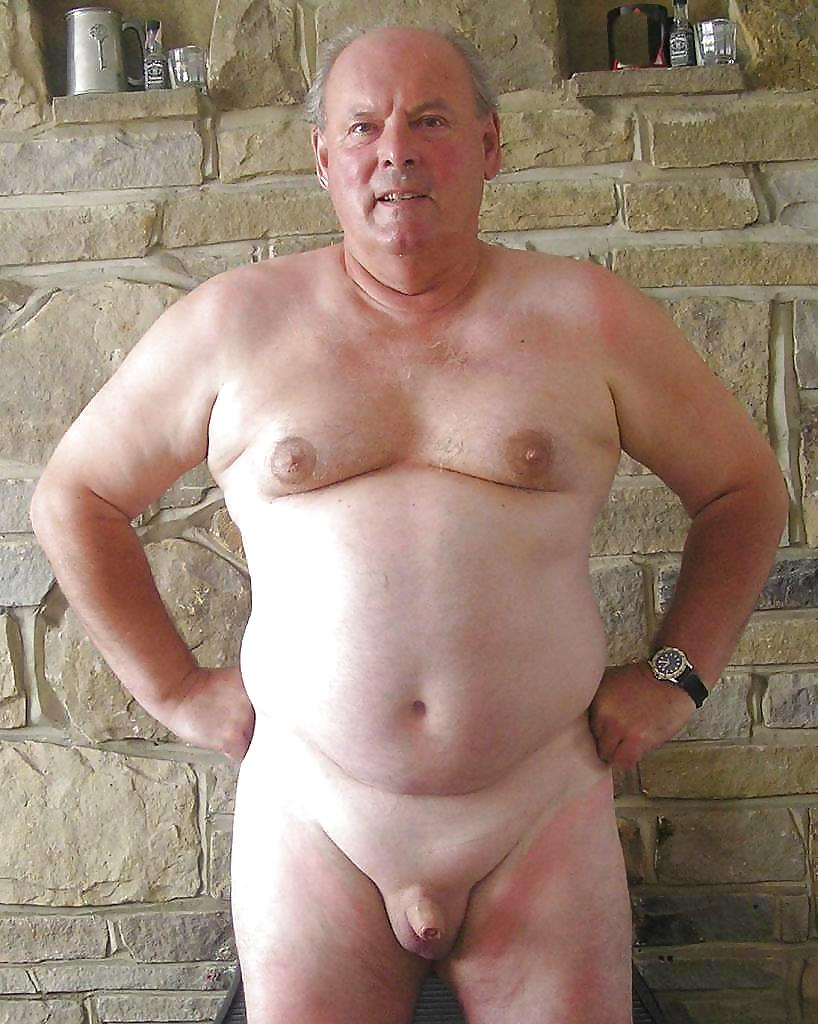 Naked Gay Old Man Daddy