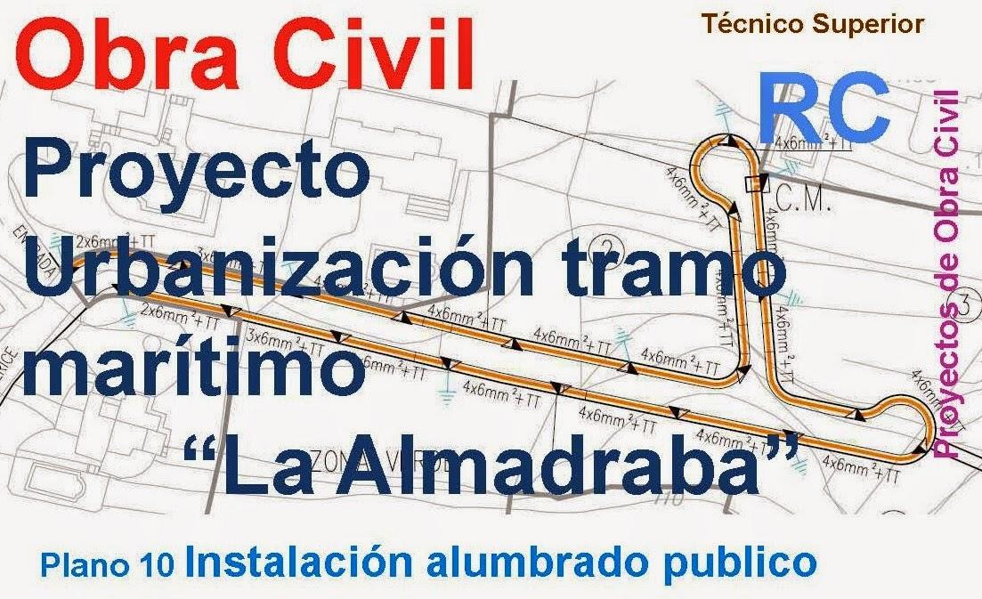 Rc i e s gran v a alicante pr ctica 11 planos 9 proyecto for Planos de obra civil